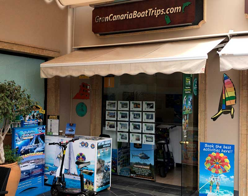 gran canaria boat trips shop in cc boulevard oasis meloneras